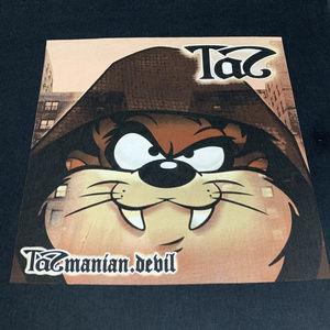 Looney Tunes Taz as Nas vtg style Tee M